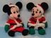 disney bean santa claus mickey mouse