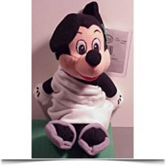 Bean Bag Plush Mickey Mouse Toga