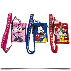 Disney Set Of 3 Mickey And Friends Lanyards