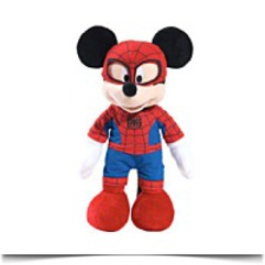 Marvel Disney Themed Mickey As Spiderman