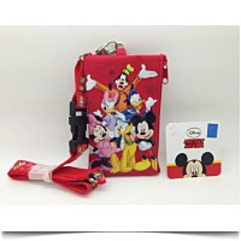 Mickey Mouse And Friends Key Chain Lanyard