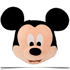 Mickey Mouse Head Cushion Pillow