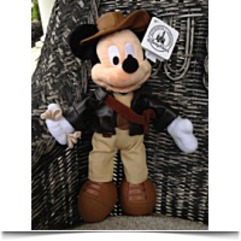 Park Indiana Jones Mickey Mouse Plush