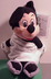 disney bean plush mickey mouse toga
