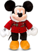 disney exclusive deluxe plush holiday plaid