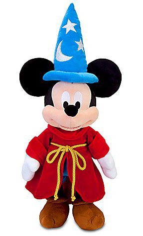 Fantasia Sorcerer Mickey Mouse Plush